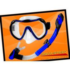 Zestaw do nurkowania maska i fajka AquaSpeed